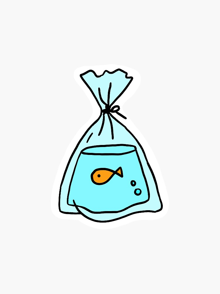 goldfish in a bag by juliakimack