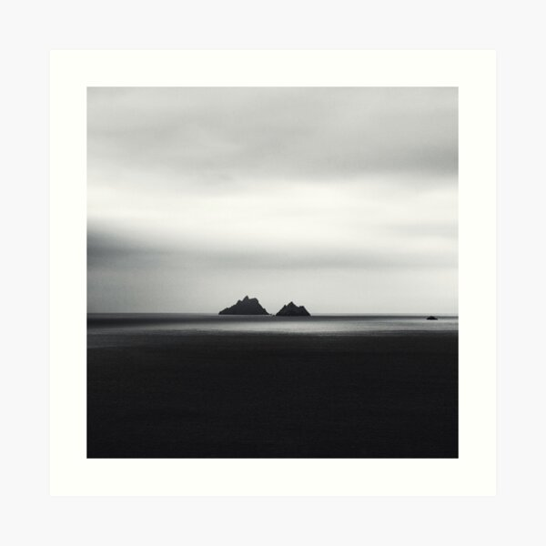 Skellig Islands Art Print