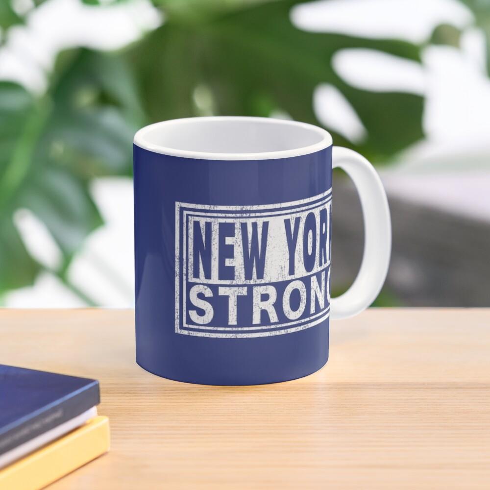 New York Strong   Midtown Manhattan WTC. Mug