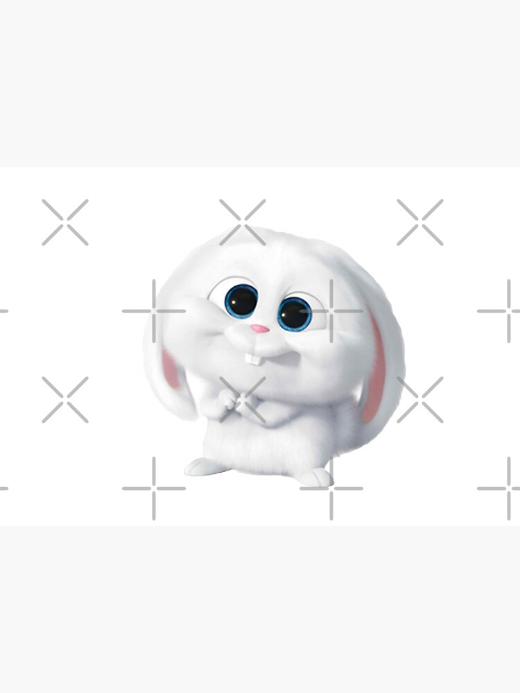 Snowball rabbit pet - Secret life  by StefaniaAlina