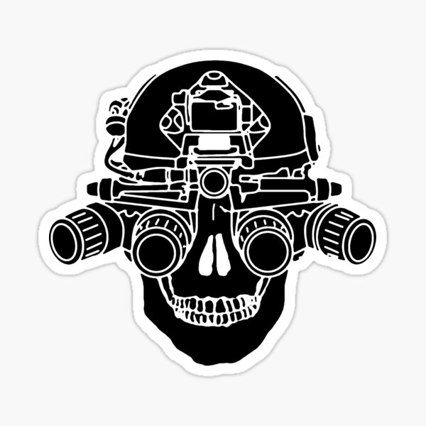 Spectre Black Sticker