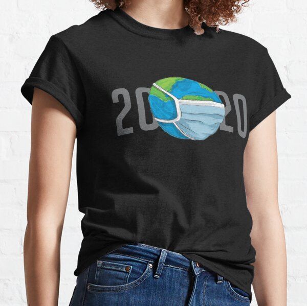 2020 in Masks Classic T-Shirt