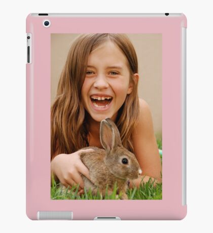 bunny delight iPad Case/Skin