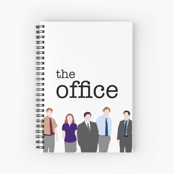 The Office - Block Colour Edition Spiral Notebook