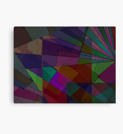 Dark Mosaic Canvas Print