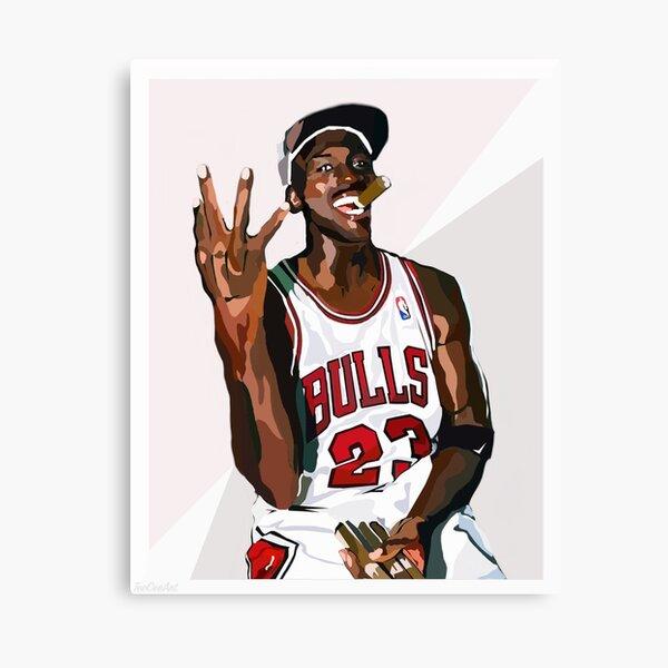 Michael Jordan Canvas Prints Redbubble