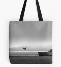 MISTY MANOEUVRE Tote Bag