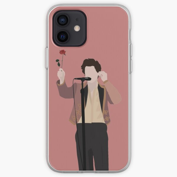 HARRY STYLES ROSE iPhone Soft Case
