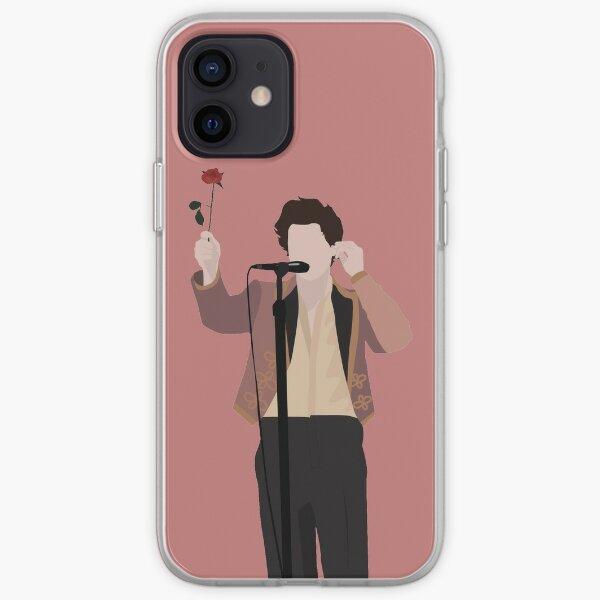 HARRY STYLES ROSE Coque souple iPhone