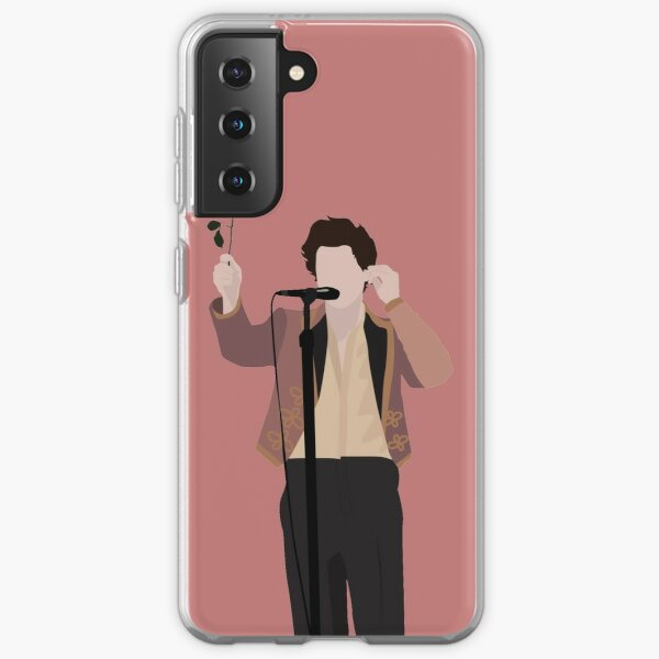 HARRY STYLES ROSE Funda blanda para Samsung Galaxy