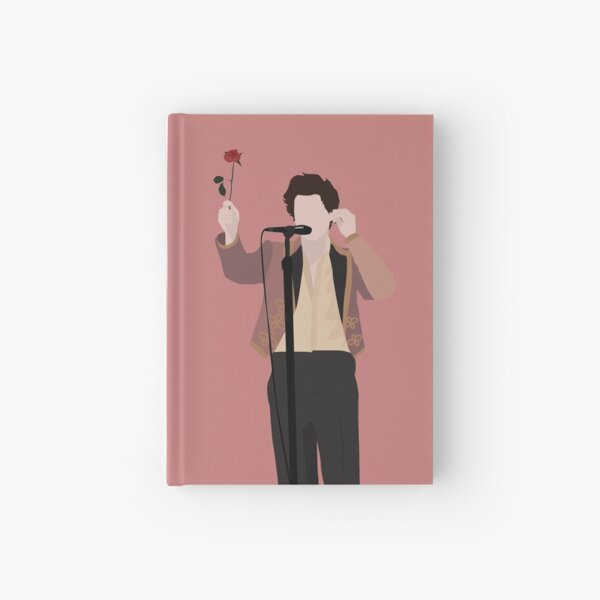 HARRY STYLES ROSE Cuaderno de tapa dura