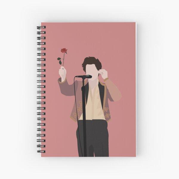 HARRY STYLES ROSE Cuaderno de espiral