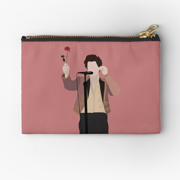 HARRY STYLES ROSE Zipper Pouch