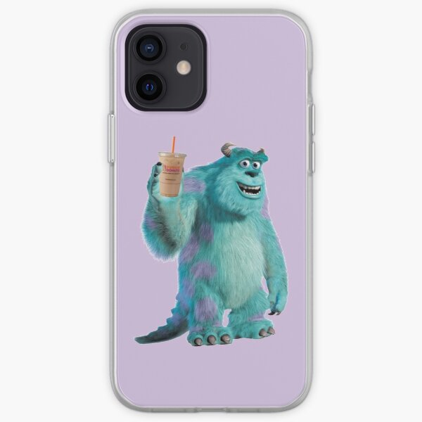 Sulley Runs on Dunkin iPhone Soft Case