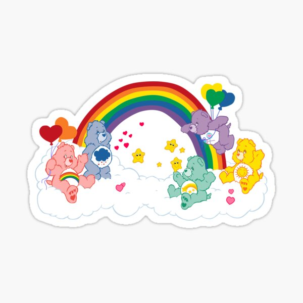 Care Bears - Classic Group Sticker