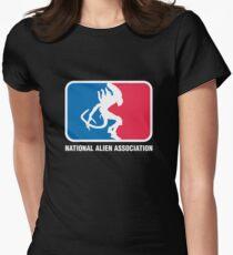 National Alien Association Womens Fitted T-Shirt
