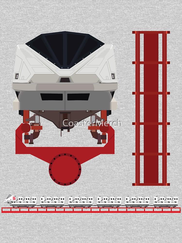 Magnum XL200 Coaster Train Design by CoasterMerch