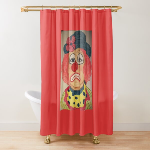 Crying on the Inside Shower Curtain
