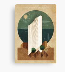 Alpha Tower Canvas Print