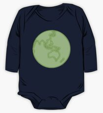 globe in green Kids Clothes