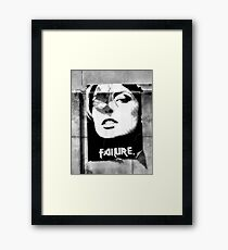 Failure Framed Print