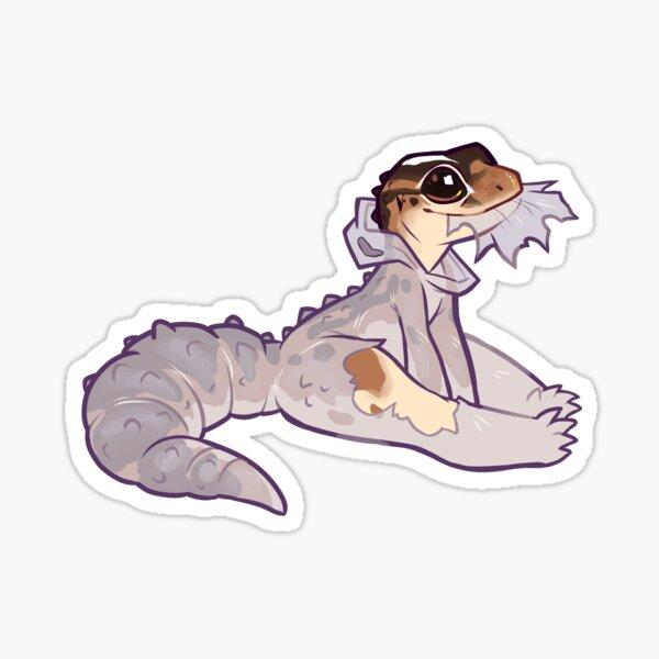 Edible Gecko Onsie Sticker