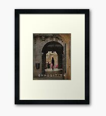 Exposition Framed Print