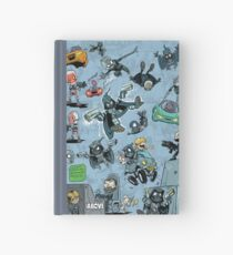 From Above Comic Hardcover Journal