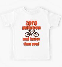 Zero Pollution (En) Kids Tee