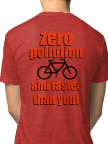 Zero Pollution (En) Tri-blend T-Shirt