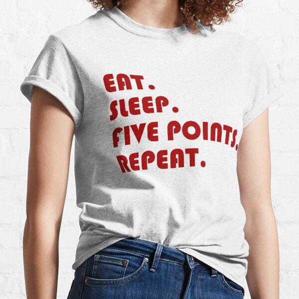 Carolina del Sur cinco puntos Camiseta clásica
