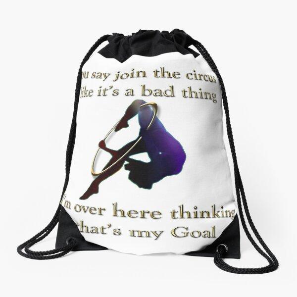 Join the circus  Drawstring Bag