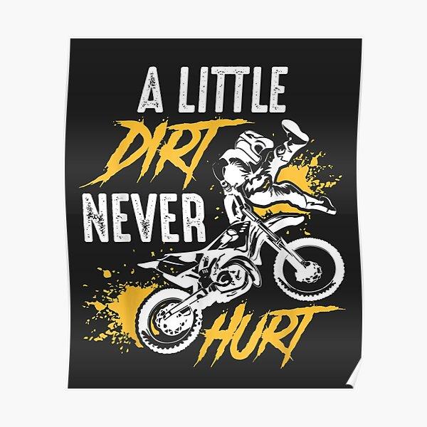 Cool Dirt Bike Gift For Boys and Girls - Motocross Poster