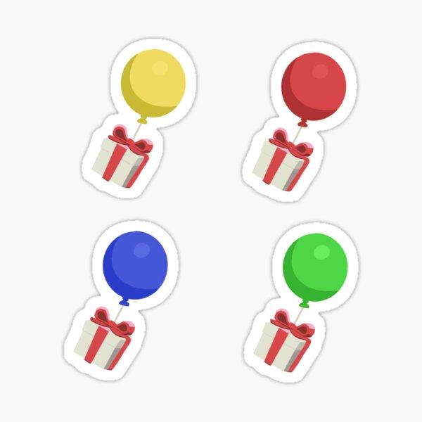 Animal Crossing Balloon Sticker Pack/Pattern Sticker