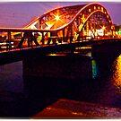 Piłsudski Bridge . Kraków. Poland . made in Brown Sugar. Fujifilm  FinePix AV200 . Featured The New Fuji Fine. Views 83 by © Andrzej Goszcz,M.D. Ph.D