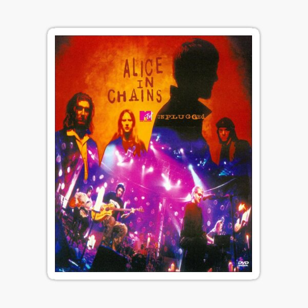 Alice In Chains MTV Unplugged Album Cover Sticker