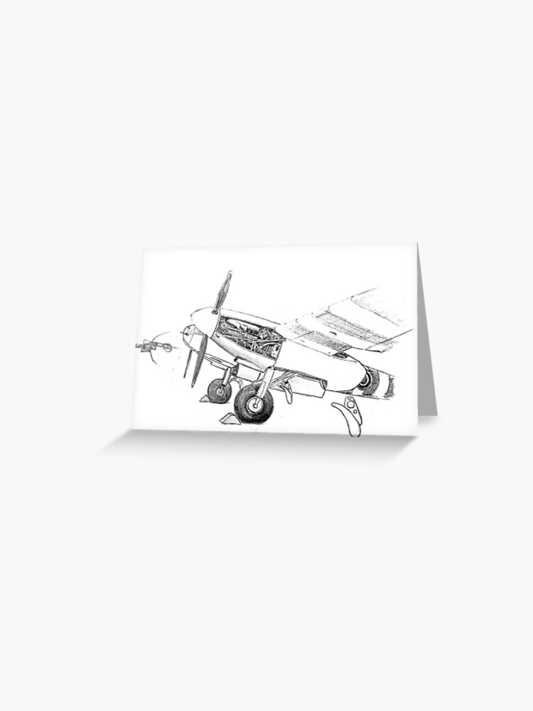 pencil study of mosquito greeting card by woodie redbubble