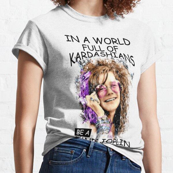Camisetas clásicas Amante Regalo Janis Joplin Camiseta clásica