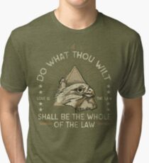 Do What Thou Wilt Tri-blend T-Shirt
