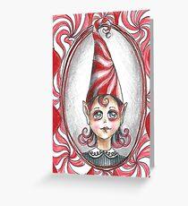 Christmas - Peppermint Twist Greeting Card