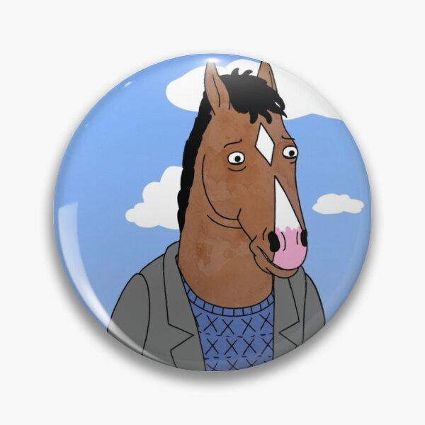 Bojack Horseman Cartoon Horse Enamel Pin Badge DIY Lapel Punk
