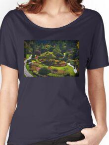 Sunken Garden - Butchart Garden Women's Relaxed Fit T-Shirt