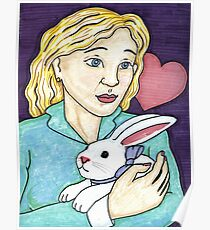 Gift of the White Rabbit Poster