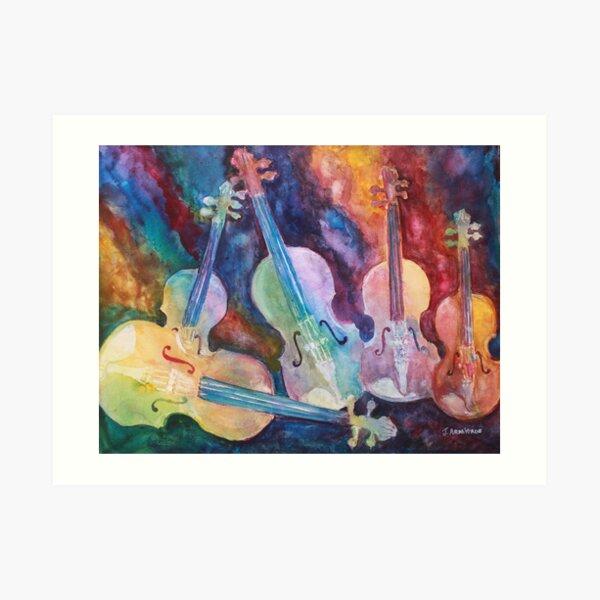 Quintet in color Art Print