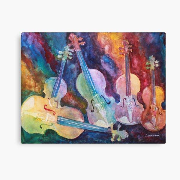 Quintet in color Canvas Print