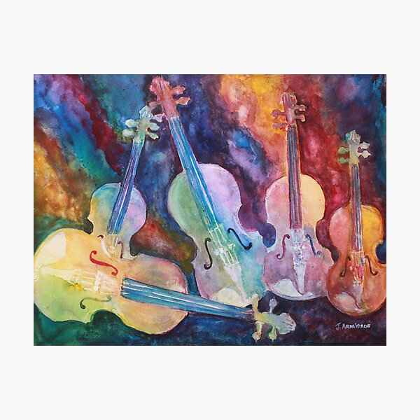 Quintet in color Photographic Print