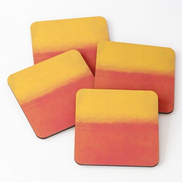 Mark Rothko | Orange and Yellow Coasters (Set of 4)