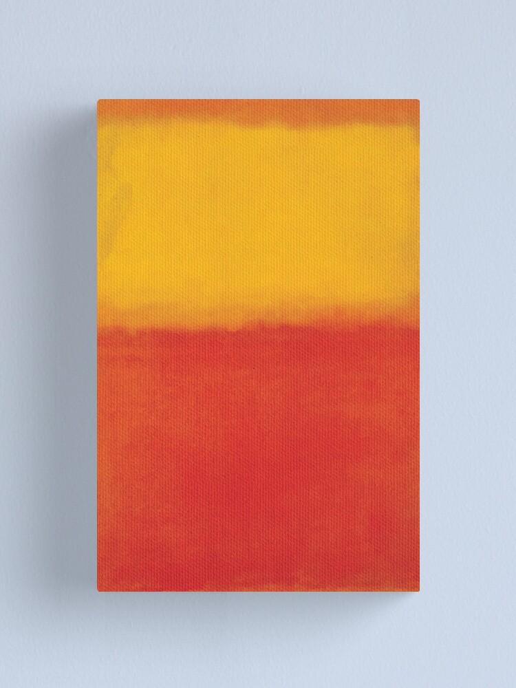 Alternate view of  Mark Rothko | Orange and Yellow Canvas Print