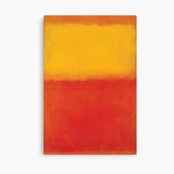 Mark Rothko | Naranja y amarillo Lienzo