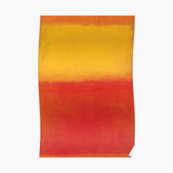 Mark Rothko | Orange and Yellow Poster
